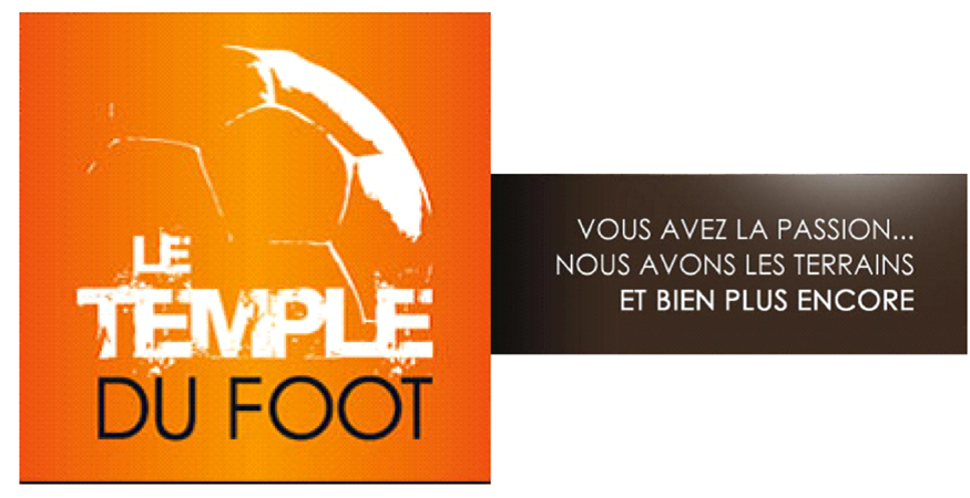 copie de temple du foot logo